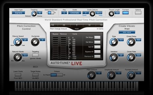 auto-tune live