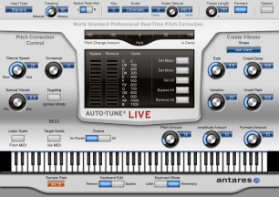 Auto-Tune Live Screenshot