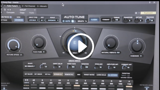 Auto-Tune & Vocal Processing Tools by Antares Audio Technologies